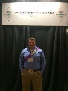 Cover photo for Hoke County 4-H'ers honored at State 4-H Congress