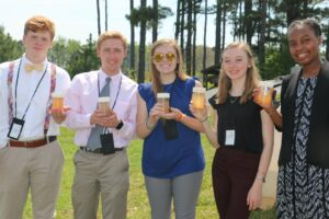 Cover photo for North Carolina Youth Institute Places Youth in the Center of Solving Global Food Insecurity