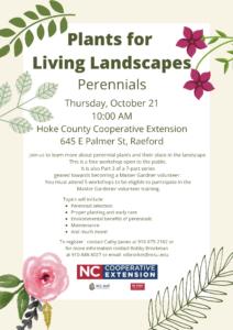 Plants for Living Landscape: Perennials